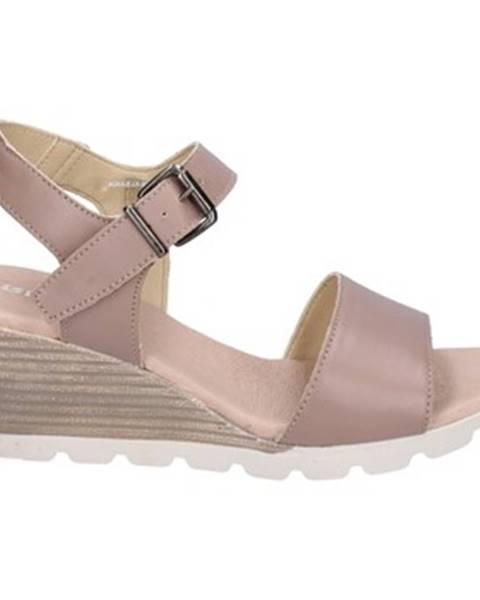 Béžové sandále Rizzoli