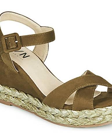 Zelené sandále Elue par nous