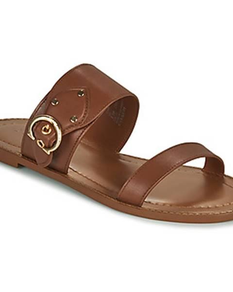 Hnedé sandále Coach
