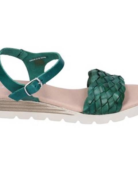 Zelené sandále Rizzoli