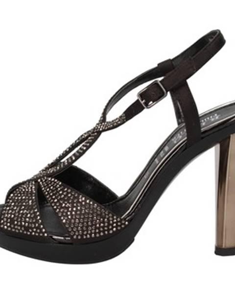Čierne sandále Phil Gatiér