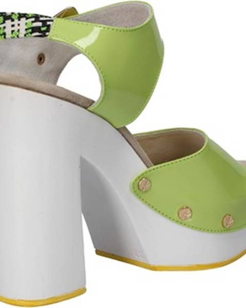 Zelené sandále Suky Brand