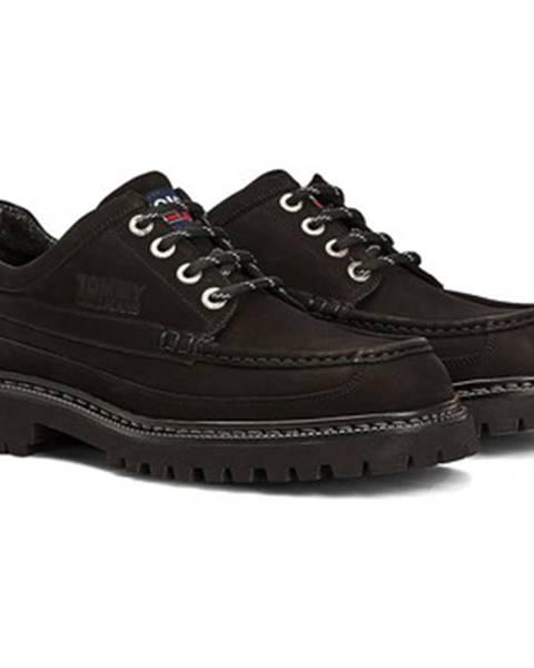 Čierne tenisky Tommy Jeans