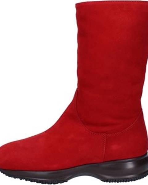 Červené topánky Hogan