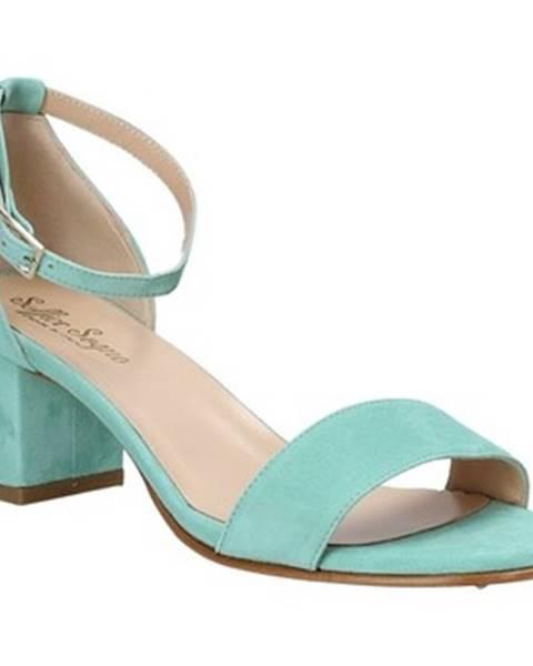 Modré sandále Soffice Sogno