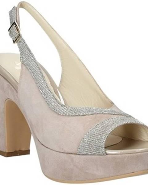 Béžové sandále Soffice Sogno