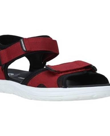 Červené sandále Clarks
