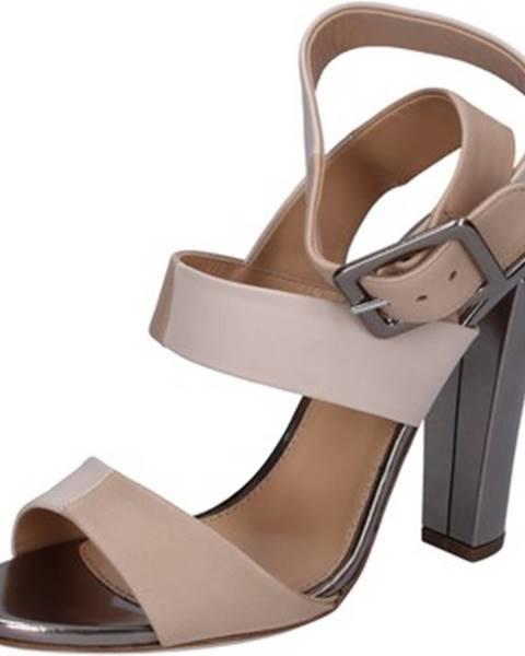 Béžové sandále Sergio Rossi