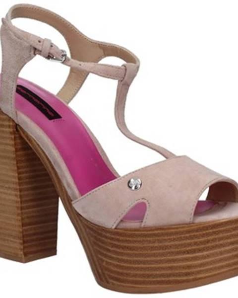 Ružové sandále Fornarina