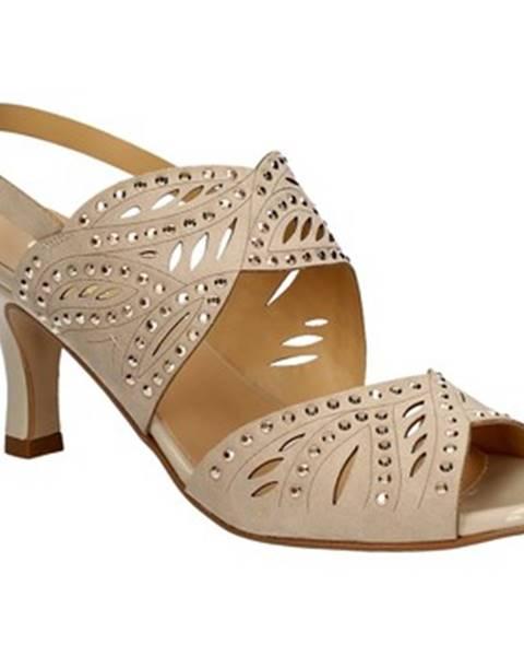 Béžové sandále Grace Shoes
