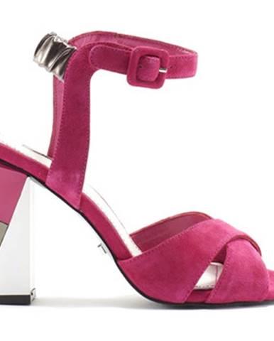 Ružové sandále Gaudi