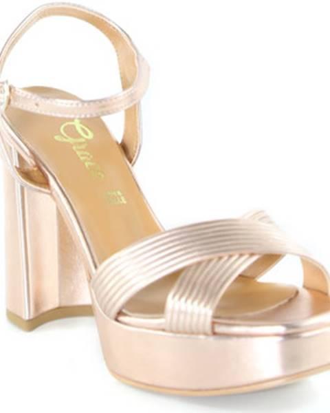 Ružové sandále Grace Shoes