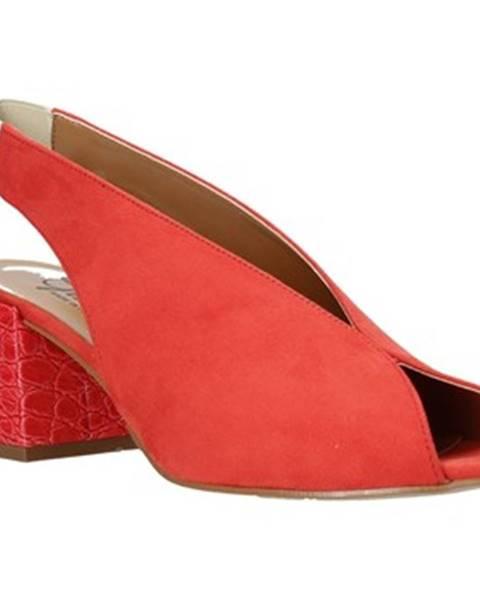 Oranžové sandále Grace Shoes