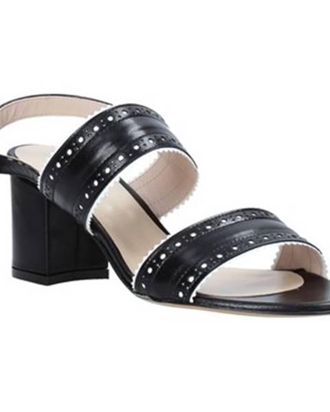 Čierne sandále Casanova