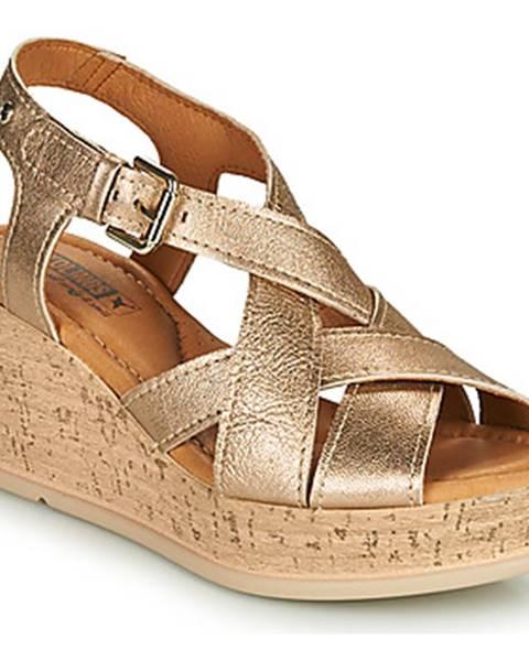 Zlaté sandále Pikolinos