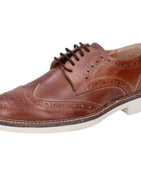 Hnedé topánky Salvo Ferdi