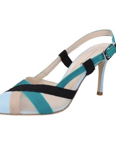 Modré sandále Guido Sgariglia