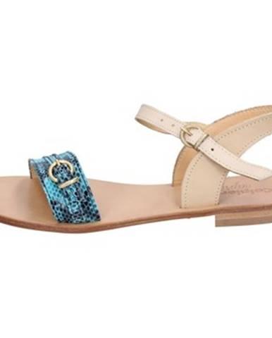 Zelené sandále Calpierre