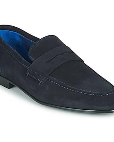 Modré topánky Azzaro