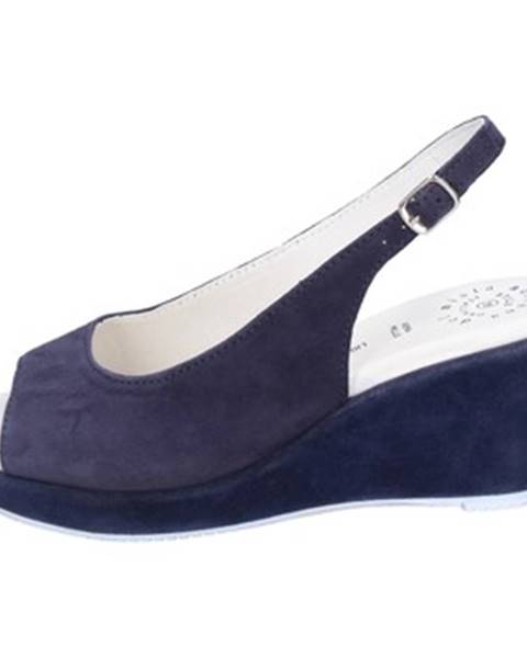 Modré sandále Adriana Del Nista