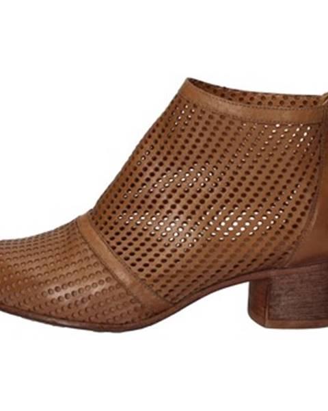 Hnedé topánky Moma