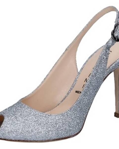 Strieborné sandále Capitini