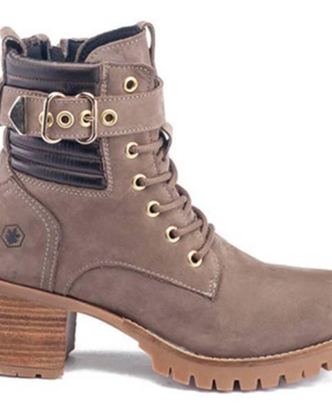 Béžové topánky Lumberjack