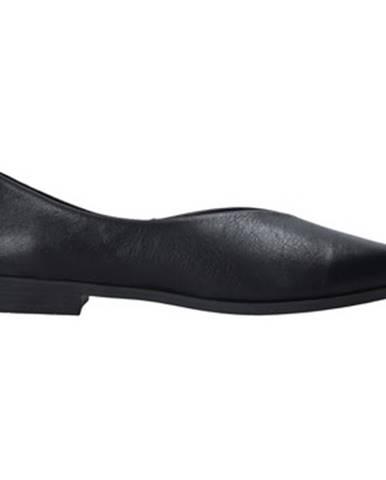 Čierne balerínky Bueno Shoes