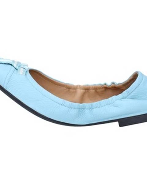 Modré balerínky Bally Shoes