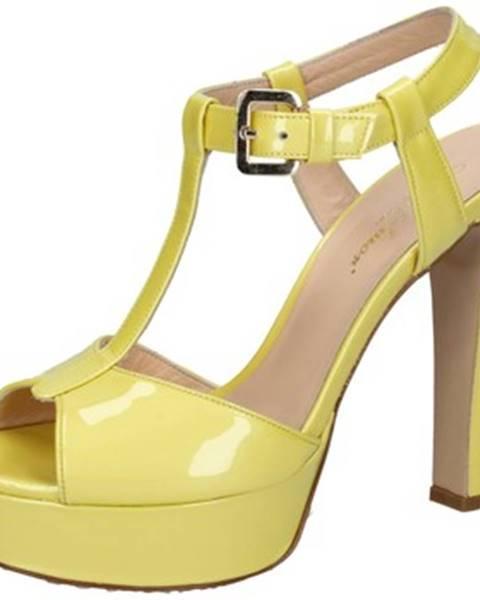 Žlté sandále Mi Amor