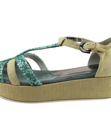 Viacfarebné sandále Alberto Guardiani