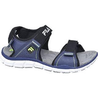 Tmavomodré sandále na suchý zips Fila