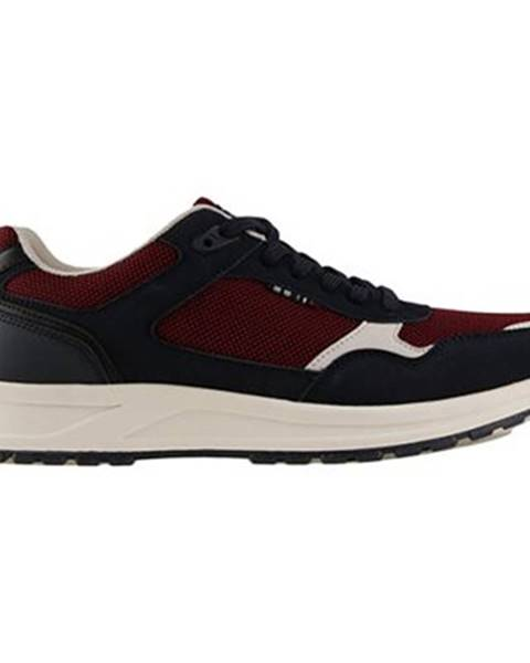 Bordové topánky Lanetti