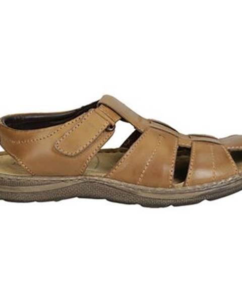Camel sandále GO SOFT