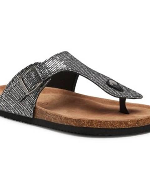 Strieborné topánky GO SOFT
