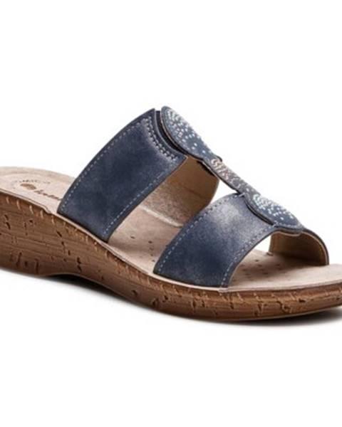 Tmavomodré topánky INBLU