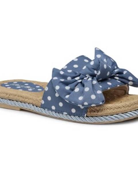 Tmavomodré topánky Bassano