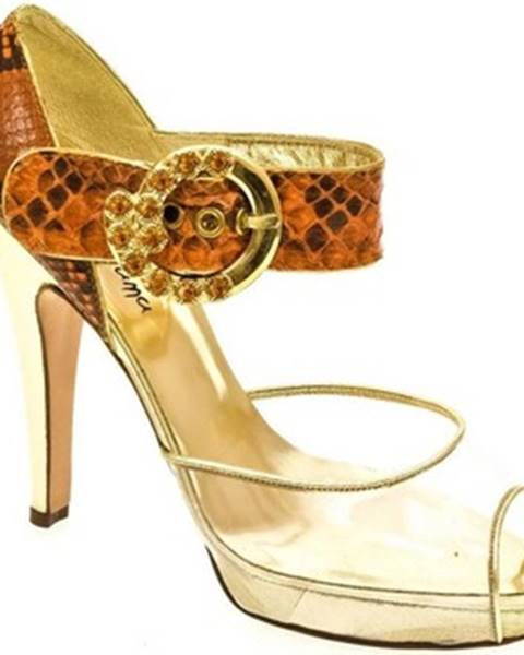 Oranžové sandále John-C
