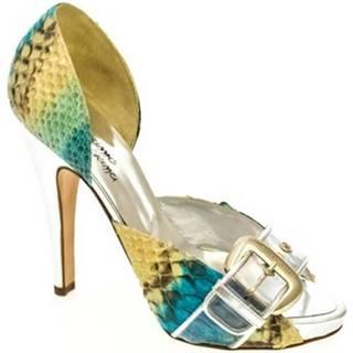 Sandále John-C  Dámske farebné lodičky BLITA