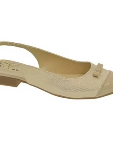 Zlaté sandále Just Mazzoni
