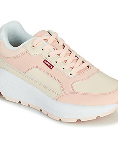 Ružové tenisky Levis