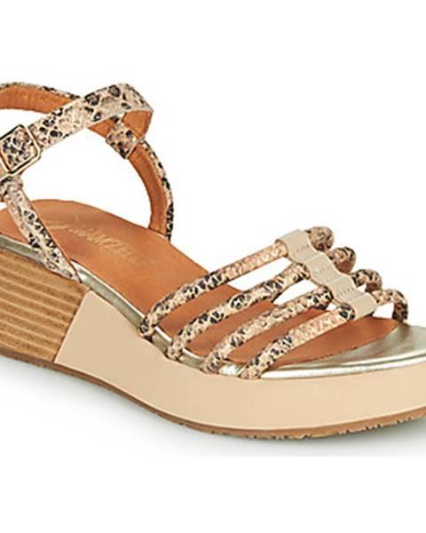 Béžové sandále Mam'Zelle