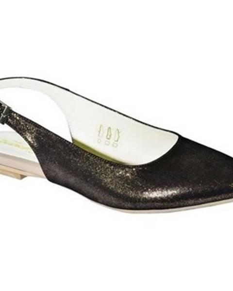 Hnedé sandále Carsona
