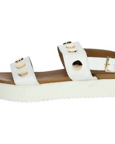 Biele sandále Donna Style