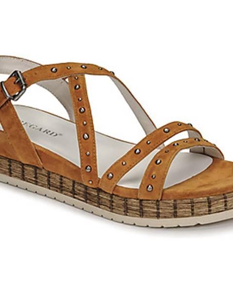 Hnedé sandále Regard