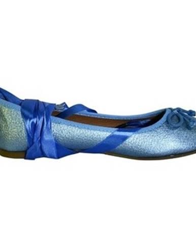 Modré balerínky Comer
