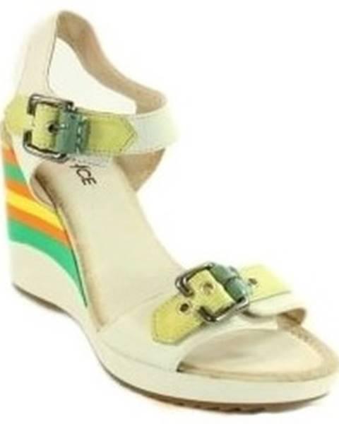 Biele sandále Robson