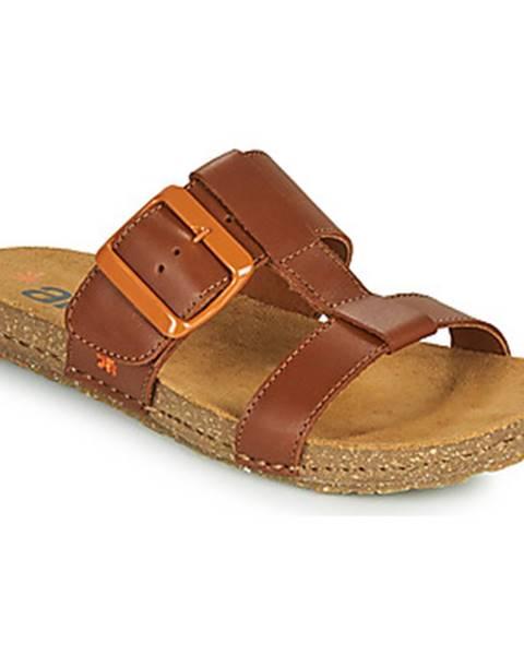 Hnedé topánky Art