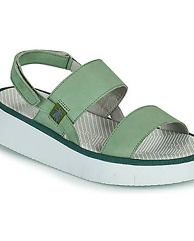 Zelené sandále Fly London
