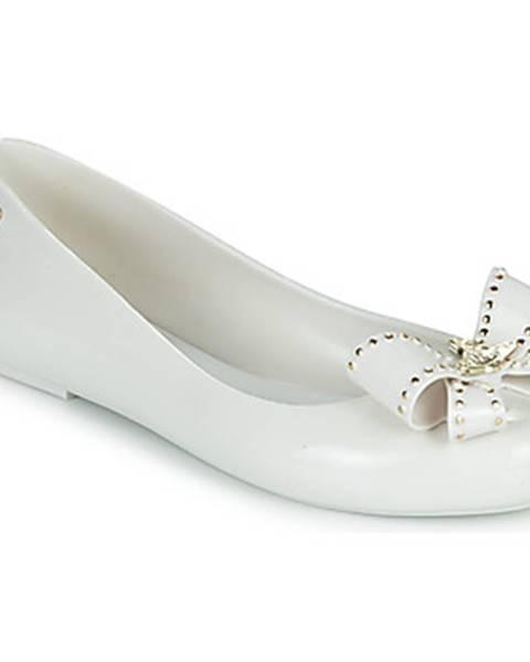 Biele balerínky Melissa